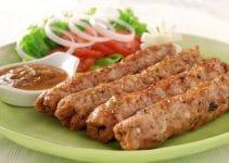 Recette simple de brochettes de kefta au poulet
