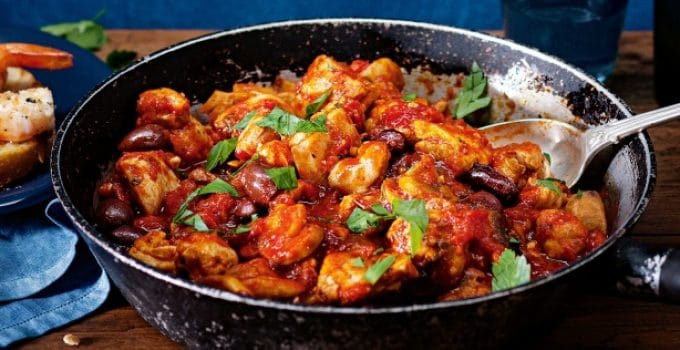 recette poulet marengo