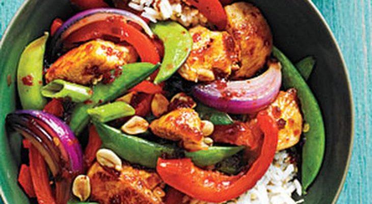 Recette de poulet asiatique parfumé au sambal oelek